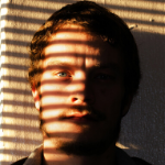 guy with shadows on face
